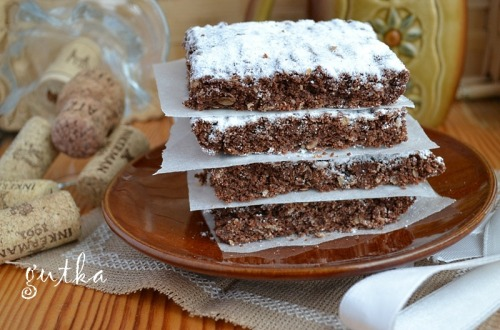 Пісне печиво з какао та фініками