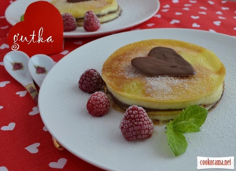Pancake mini cakes