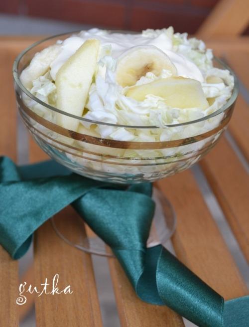 Дієтичний салатик з пекінської капусти