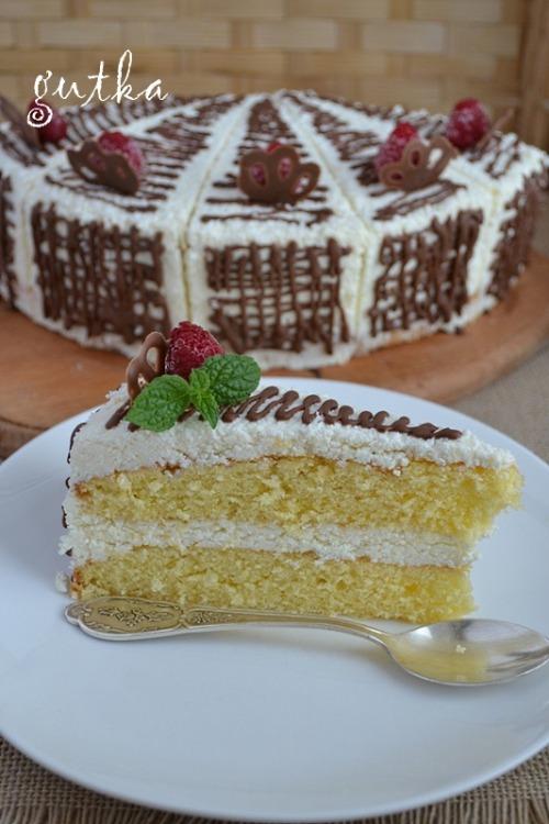 Торт сирно-кокосовий