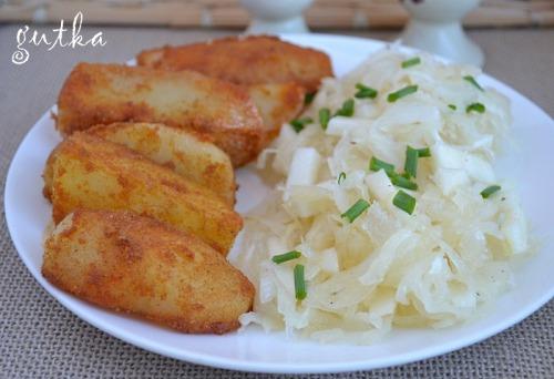 Картопля печена пікантна