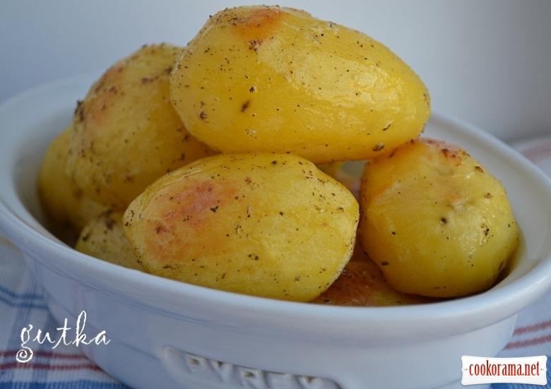 Печена картопля
