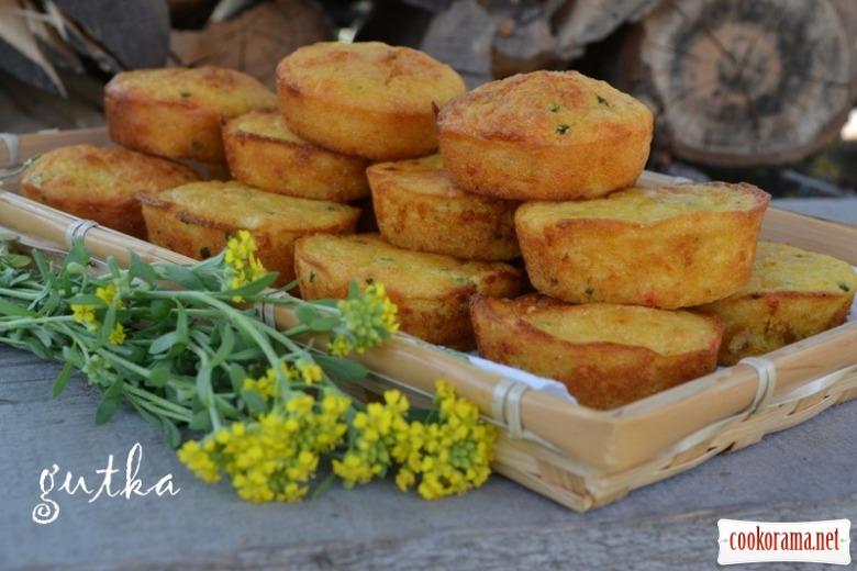 Кукурудзяні міні-кекси закусочні