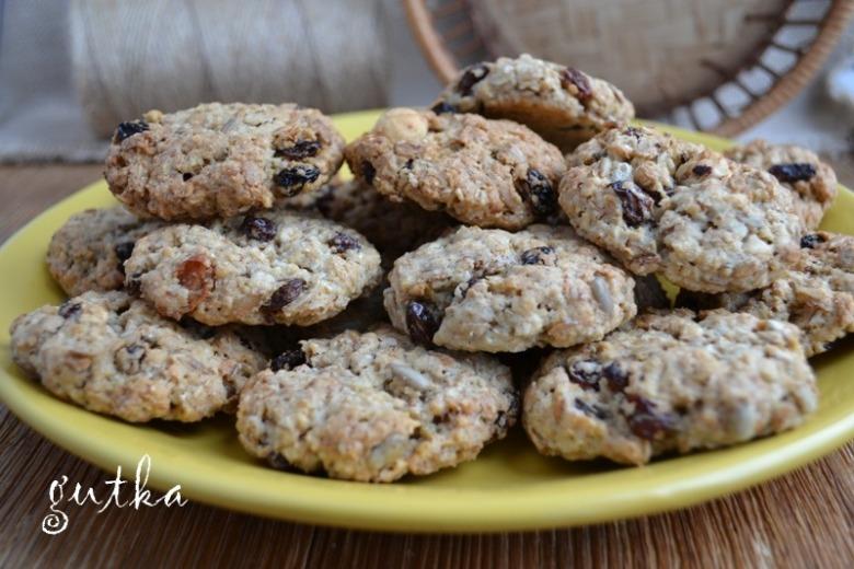 Вівсяне печиво по-святковому