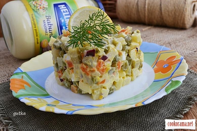 Салат овочевий (Salatka jarzynowa)
