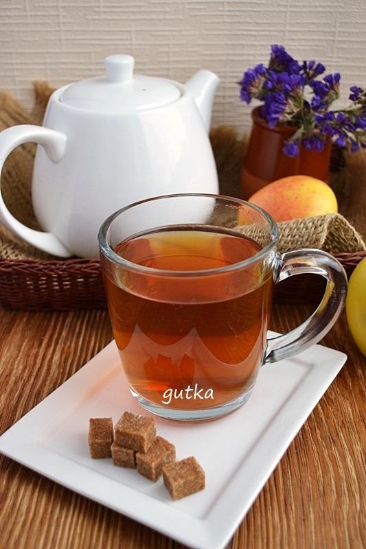Чай з яблуками