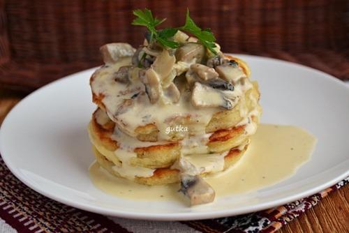 Оладки (не солодкі) на сніданок