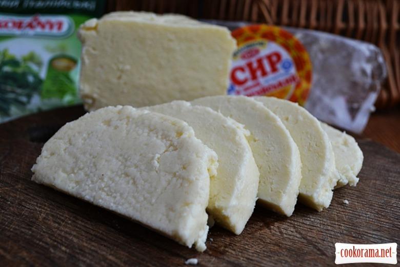 Смажений адигейський сир