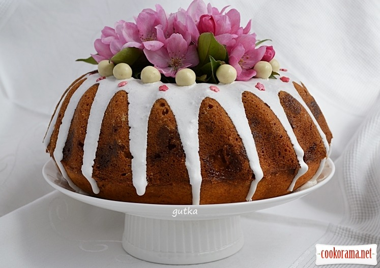 Кекс з цукерками «Корівка»