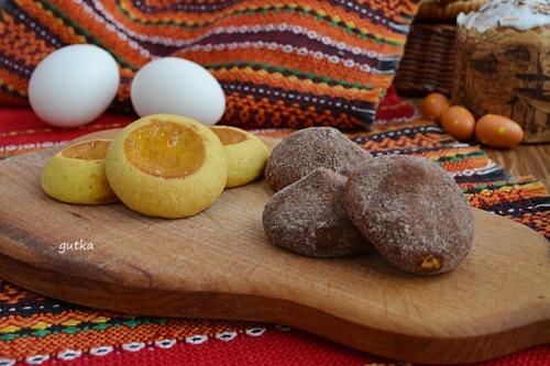 Печиво з варених жовтків та лісових горіхів