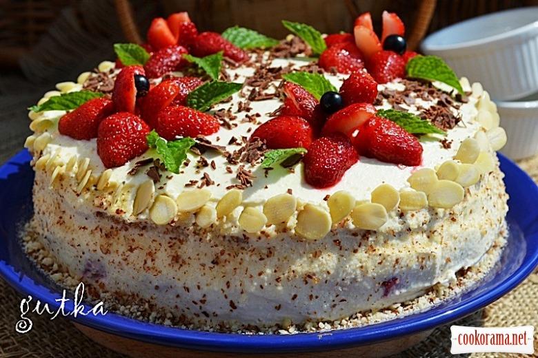 Торт «Полуничка»