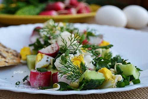 Салат весняний