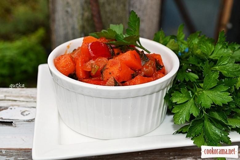 Закуска із моркви