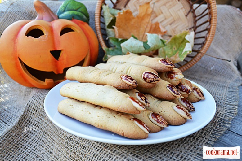 Cookies «Witch`s Fingers»