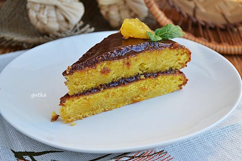 Гарбузовий пиріг з ароматом апельсину