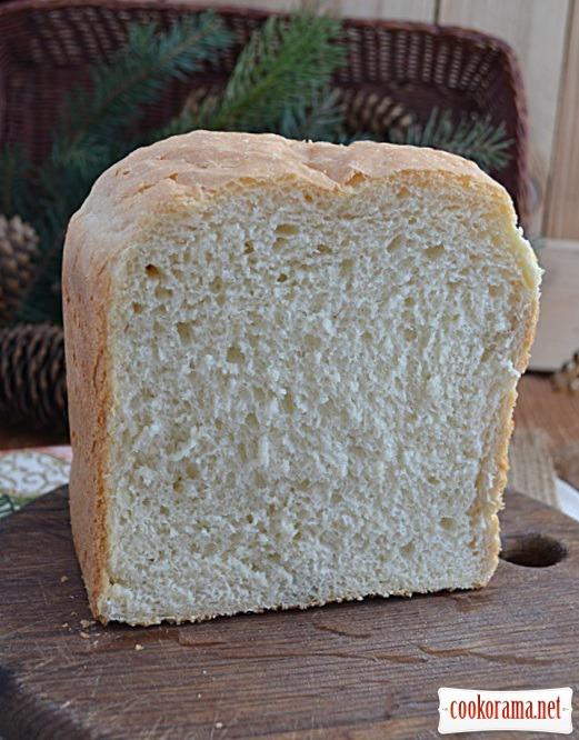 Хліб тостовий (рецепт для хлібопічки)