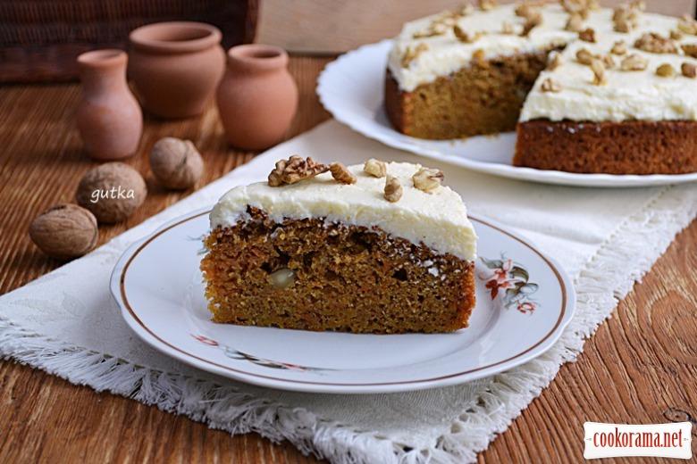 Улюблений морквяний пиріг