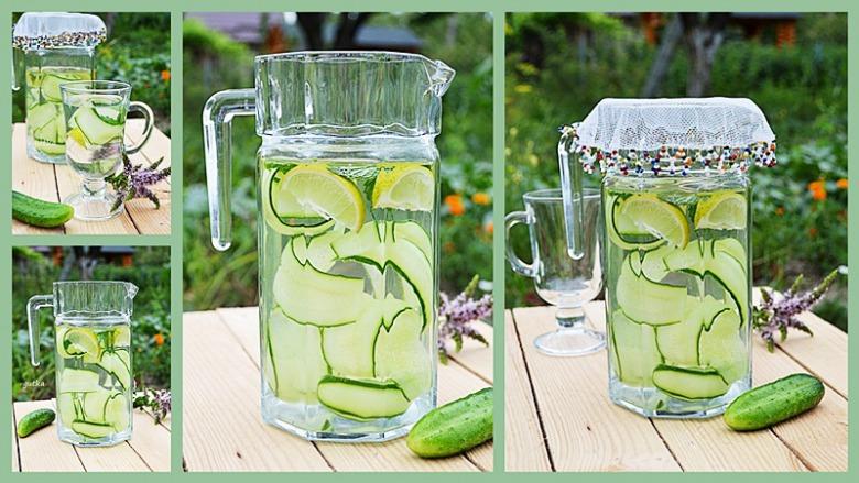 Вода з огірком та лимоном. Мій тиждень детокс-меню. День третій.