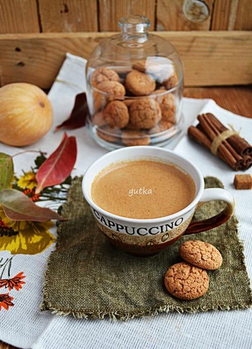 Гарячий шоколад з гарбузовим пюре