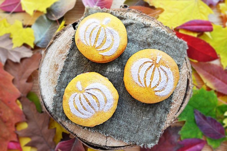 Гарбузове печиво з сирним кремом