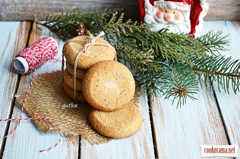 Печиво пісочне (на житньому борошні)