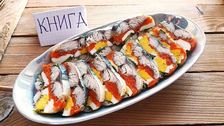 холодні закуски з риби рецепти з фото