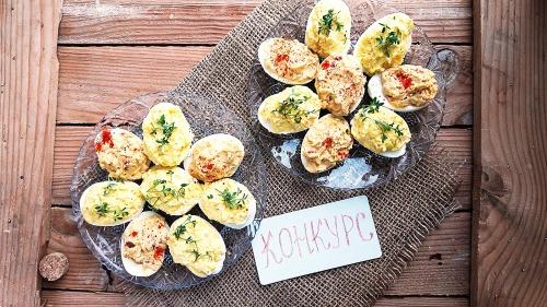 Фаршировані яйця