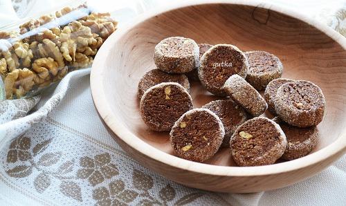 Шоколадно-горіхове печиво
