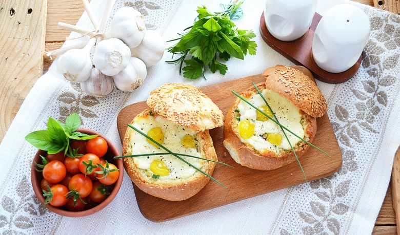 Сніданок в булочці
