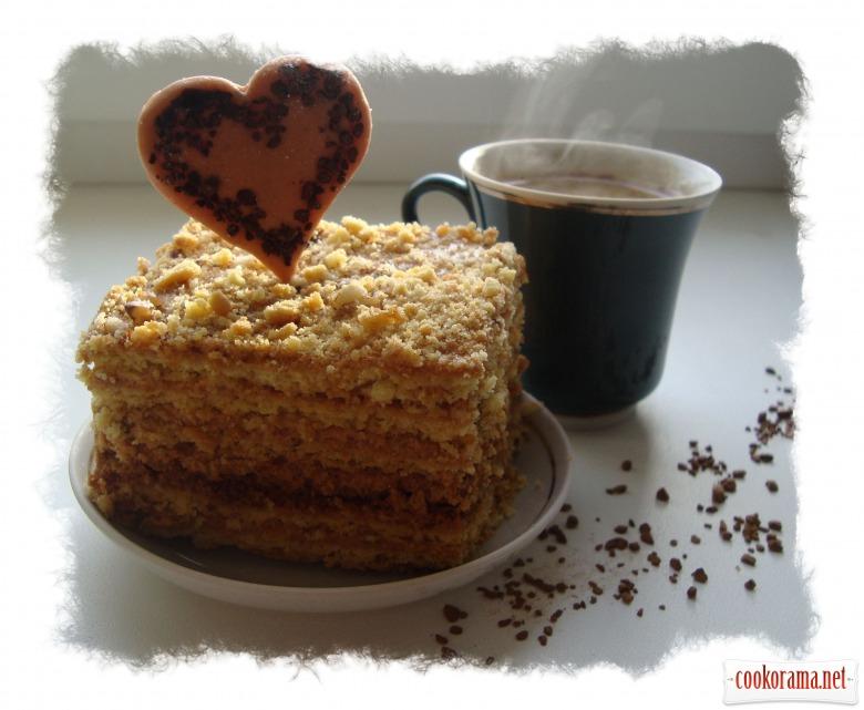 Пирожные к кофе «Люблю...»