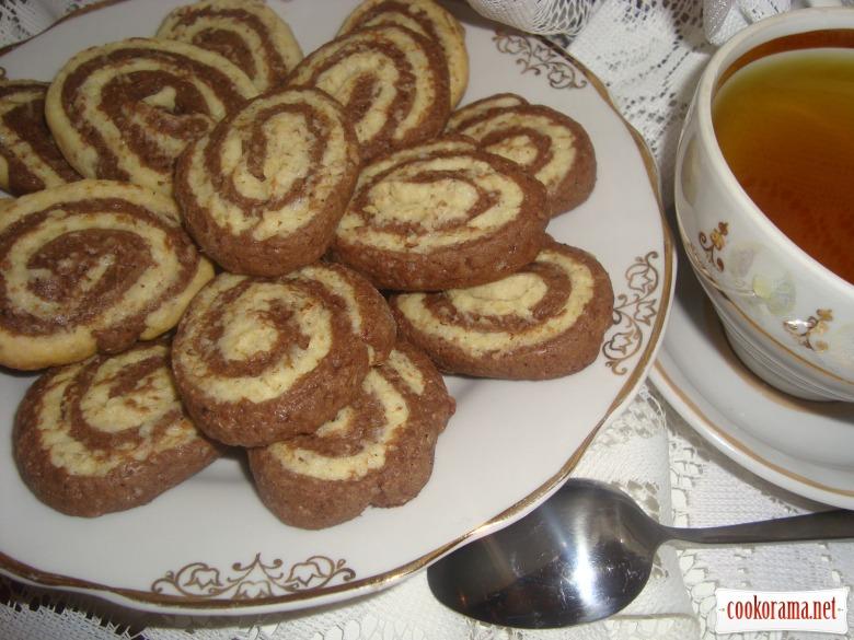 Печиво «Шоколадно-горіхове»