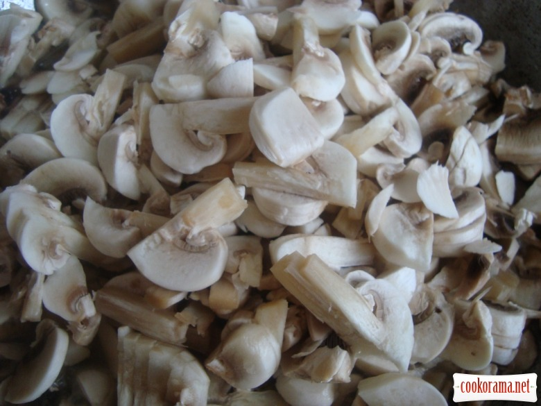 Млинці з гречкою та грибами