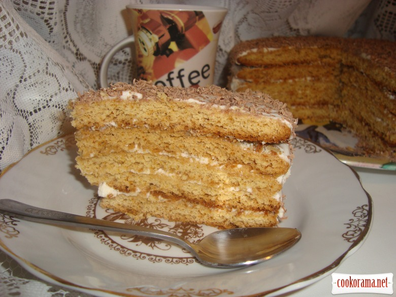 Торт «Медовичок»