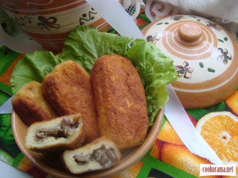Картопляники з грибами