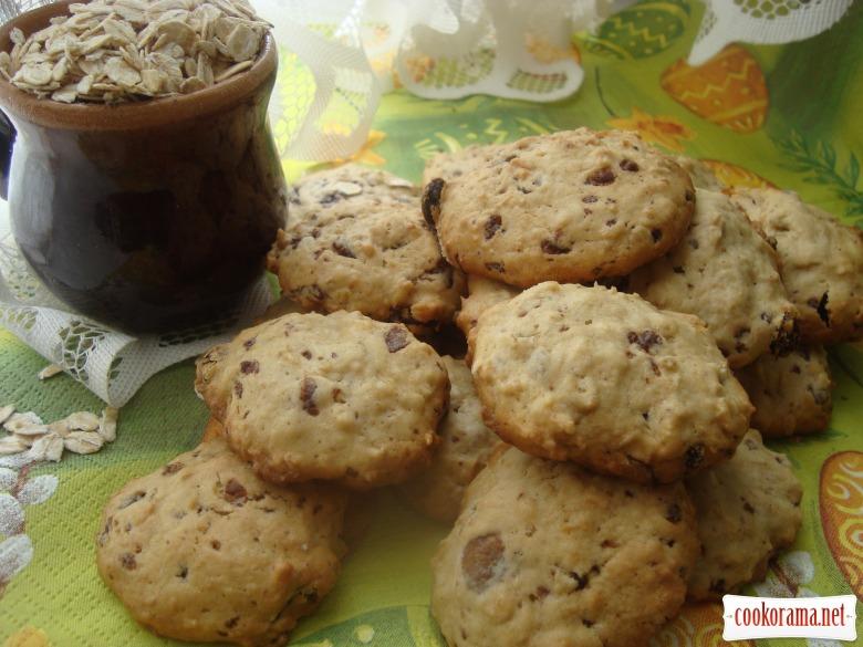 М'яке вівсяне печиво