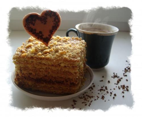 """Пирожные к кофе """"Люблю..."""""""