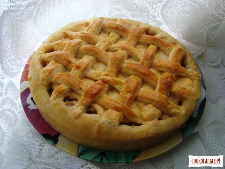 М'ясний пиріг «Пастушок»
