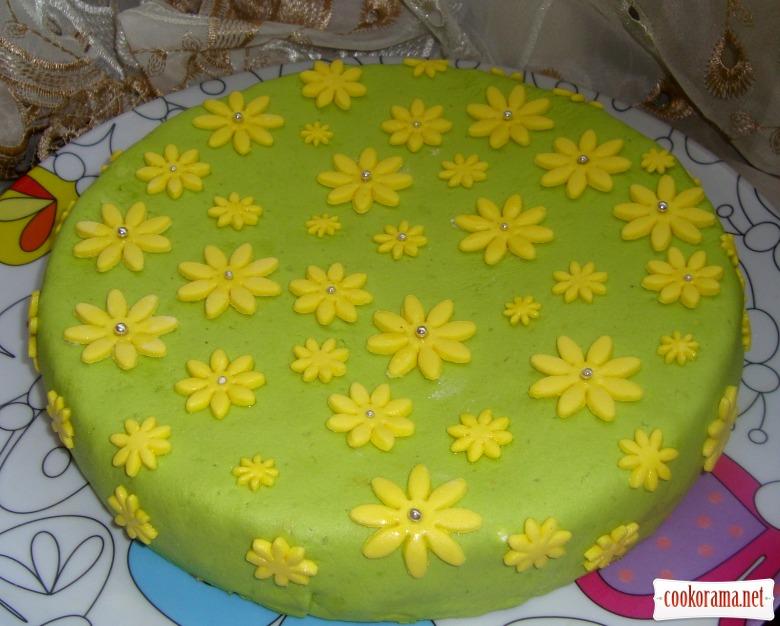 Торт «Ромашки»