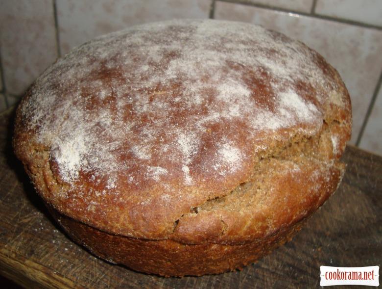 Хліб житній з висівками