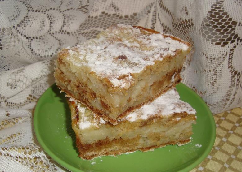 Пиріг яблучний насипний