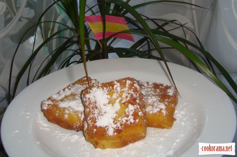 Leche frita (або «Смажене молоко»)