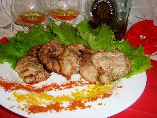 Пикантное мясо по-каталонски
