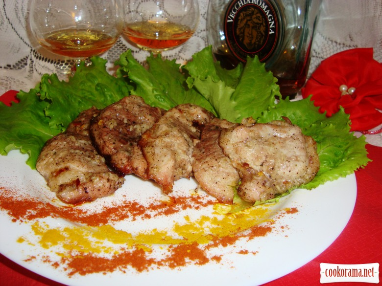 Catalan-style spicy meat