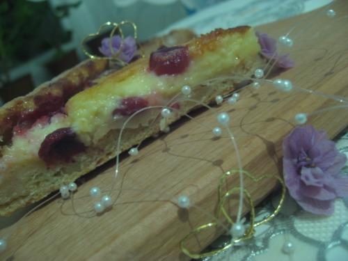 Фінський пиріг з вишнею