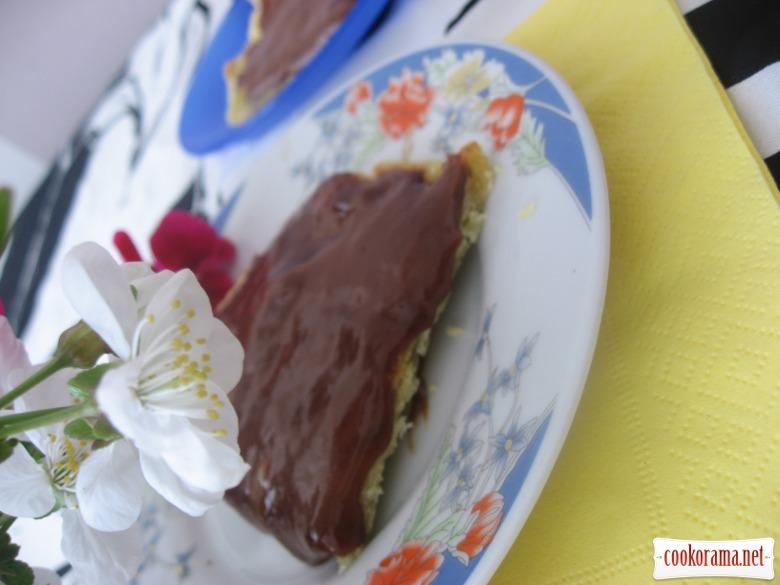Шоколадні коржики