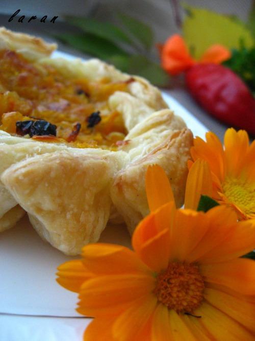 Закусочні пиріжки з гарбузом