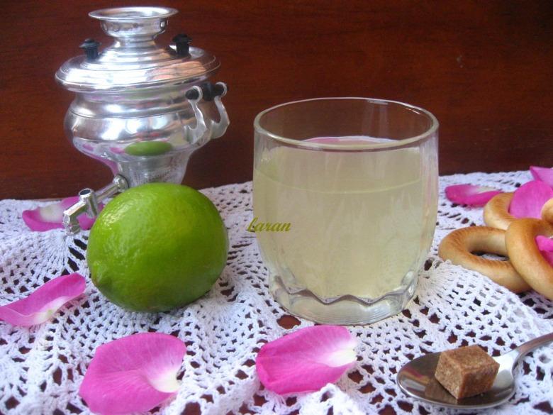Імбирно-лимонний чай