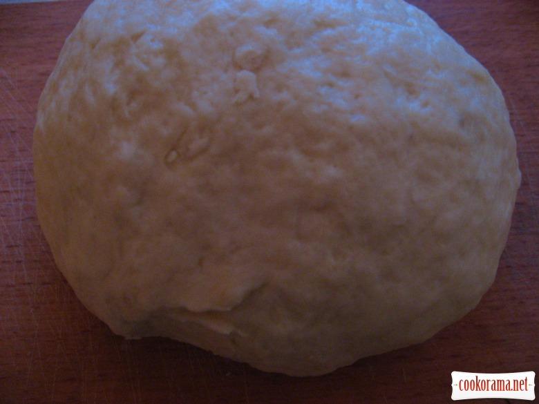 Солодкий хлібець з гарбузовою начинкою