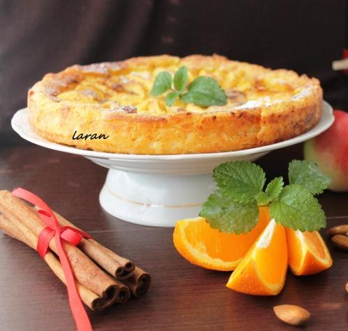 Ароматний яблучний тарт