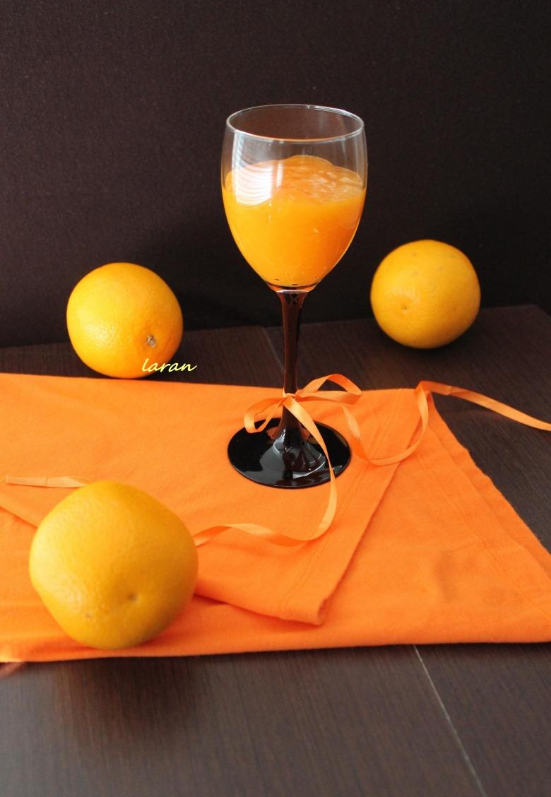 Pumpkin-orange kissel